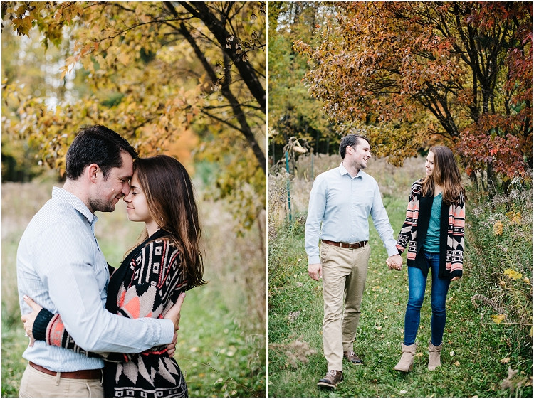 mom-and-dad-under-fall-leaves-at-fall-mini-session-favorites-by-appleton-wedding-photographer-kyra-rane-photography
