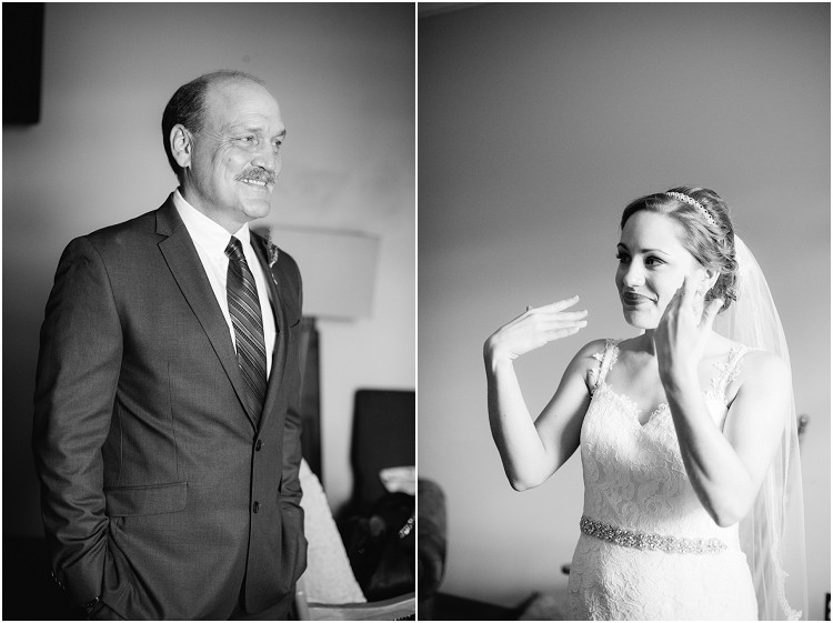 father-and-bride-first-look-at-best-western-premier-waterfront-hotel-wedding-by-green-bay-wedding-photographer-kyra-rane-photography