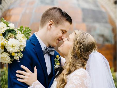 Tom + Lindsey | Pamperin Park Wedding