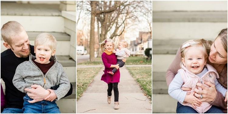 dad-holding-son-on-lap-at-front-porch-family-session-by-milwaukee-wedding-photographer-kyra-rane-photography