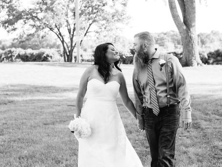 Jay + Michelle | Little Chute Riverfront Wedding