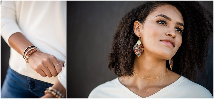 floral-leather-earrings-at-ethical-fashion-styled-shoot-by-green-bay-wedding-photographer-kyra-rane-photography