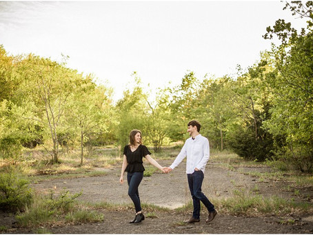 Dylan + Jenna | High Cliff Engagement Session