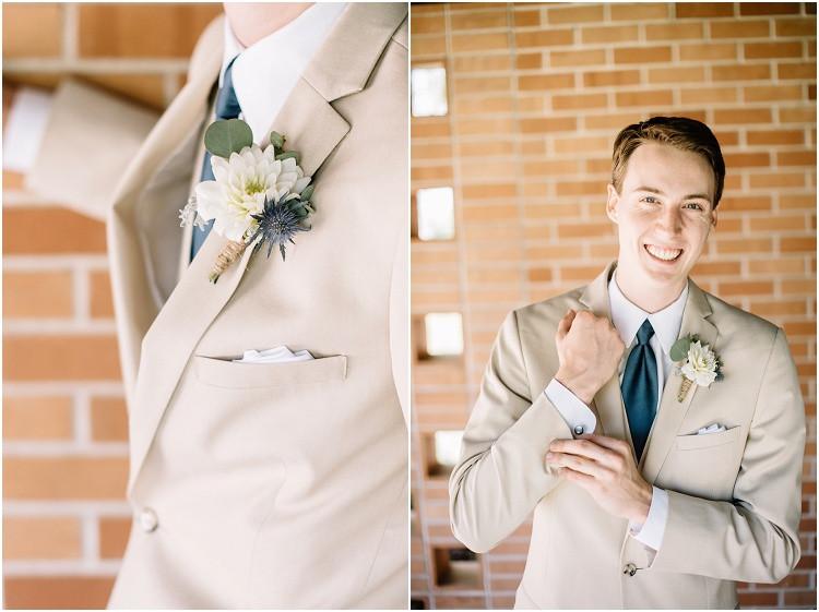 groom-wearing-boutonniere-at-minnesota-wedding-by-milwaukee-wedding-photographer-kyra-rane-photography