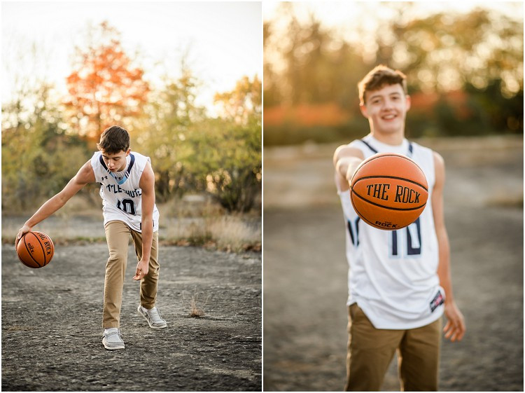 boy-dribbling-basketball-at-senior-session-at-high-cliff-state-park-by-milwaukee-wedding-photographer-kyra-rane-photography