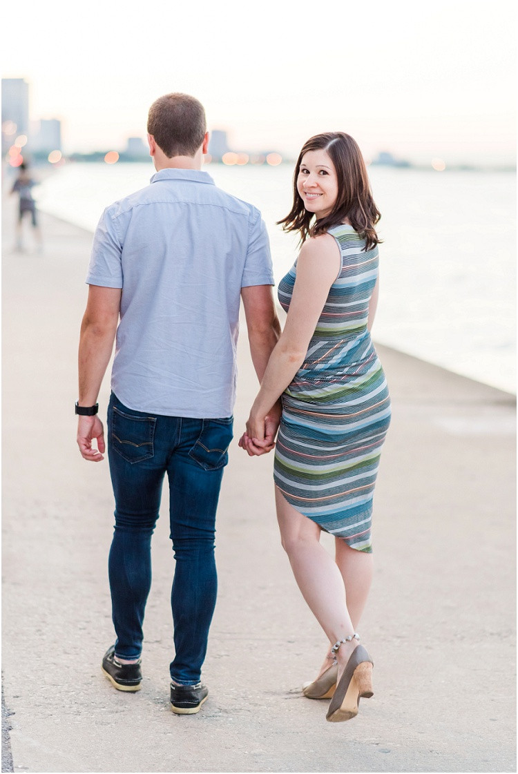 wife-smiling-at-camera-at-downtown-chicago-anniversary-session-by-green-bay-wedding-photographer-kyra-rane-photography