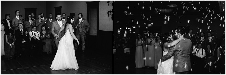 bride-and-groom-first-dance-with-bubbles-at-de-pere-wisconsin-wedding-by-green-bay-wedding-photographer-kyra-rane-photography