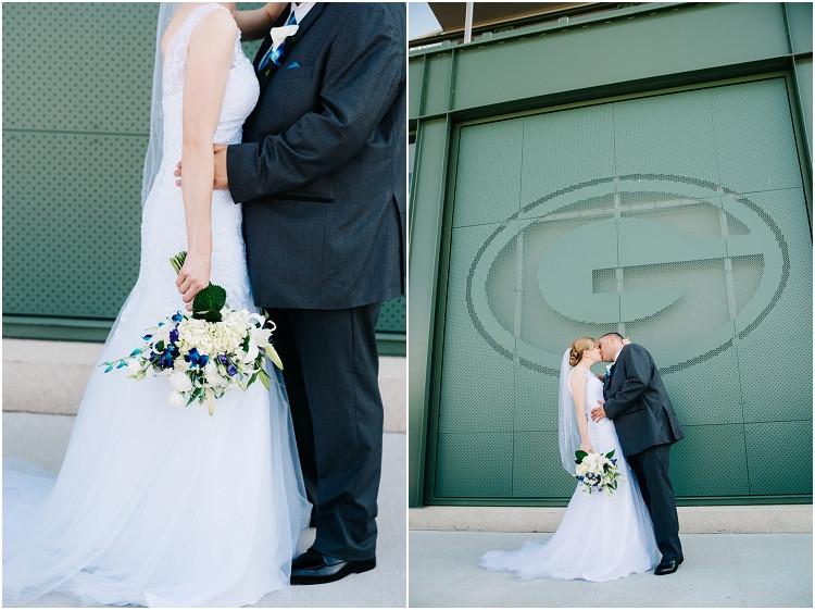 wedding-couple-at-lambeau-field-at-olde-41-wedding-by-appleton-wedding-photographer-kyra-rane-photography