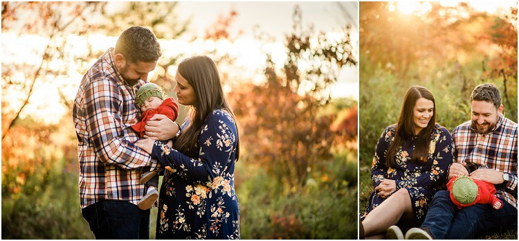 mom-and-dad-holding-sleeping-baby-at-plamann-park-by-green-bay-wedding-photographer-kyra-rane-photgraphy
