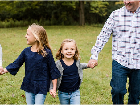Chevalier | Fall Family Photo Session