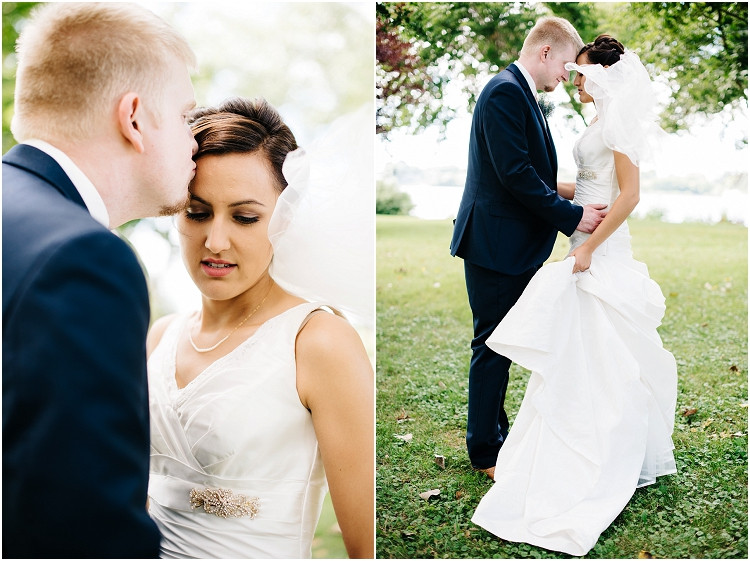 groom-kissing-brides-forehead-at-de-pere-wedding-by-green-bay-wedding-photographer-kyra-rane-photography