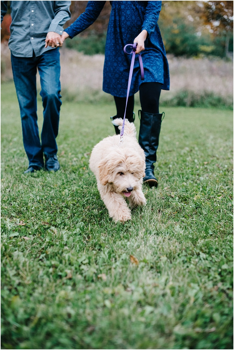 couple-walking-dog-at-fall-mini-session-favorites-by-appleton-wedding-photographer-kyra-rane-photography