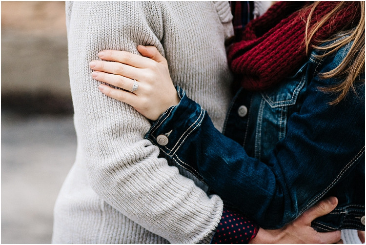 engaged-couple-holding-each-other-at-appleton-engagement-session-by-green-bay-wedding-photographer-kyra-rane-photography