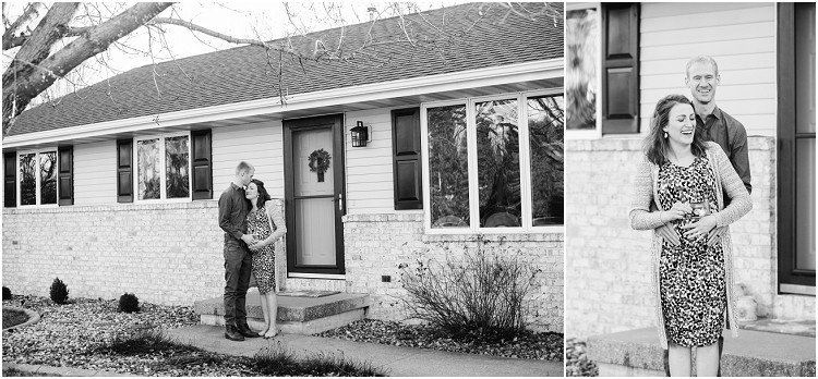mother-and-father-to-be-with-sonogram-picture-at-the-front-porch-series-by-appleton-wedding-photographer-kyra-rane-photography
