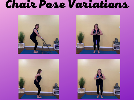 Variation on Chair Pose