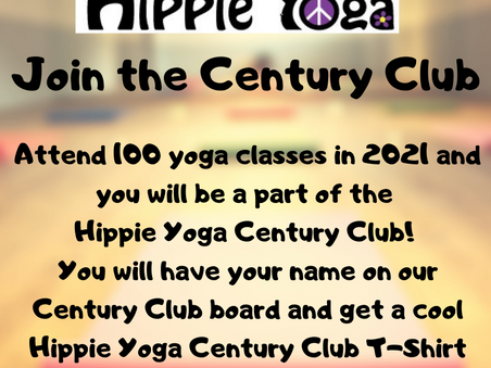 2021 Hippie Yoga Century Club