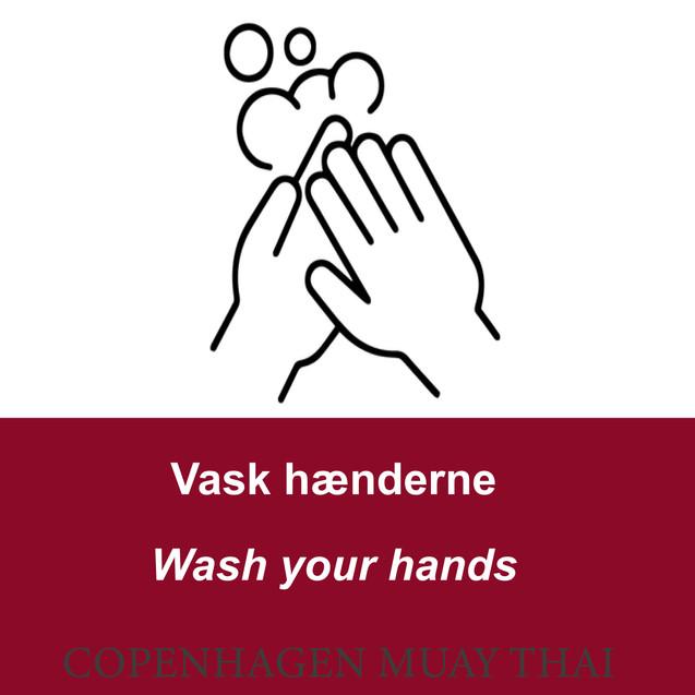 Vask dine hænder