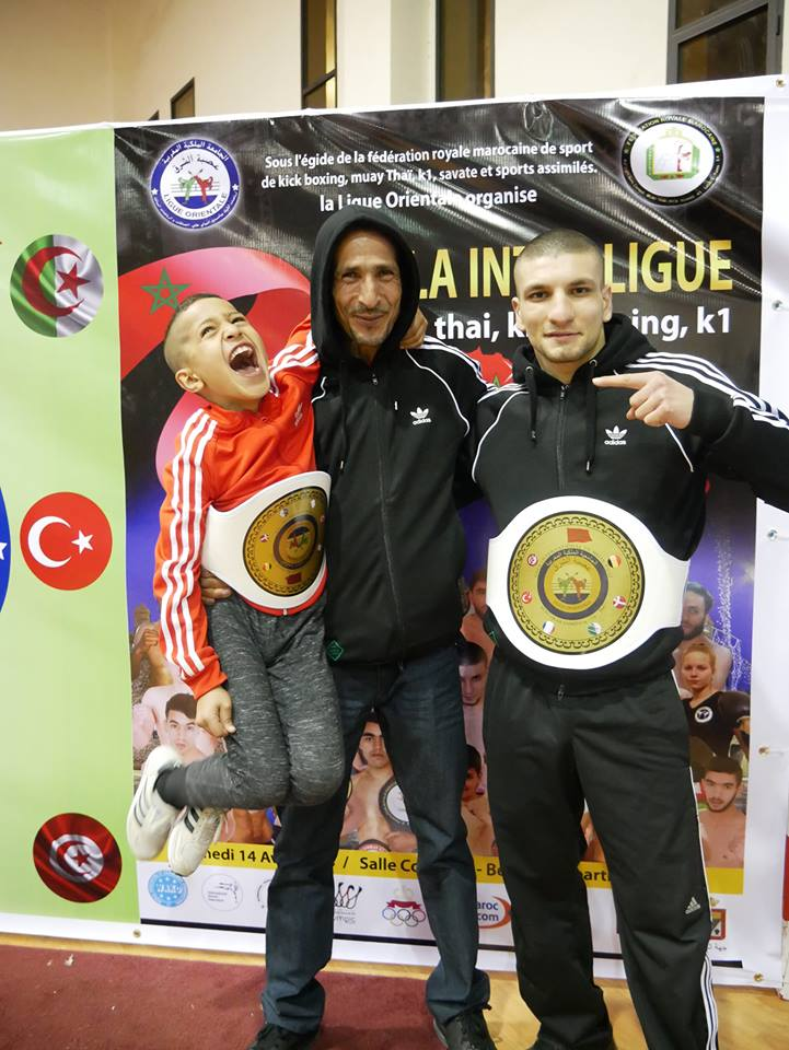 Coach and fighters