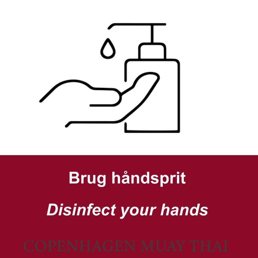 Brug håndsprit