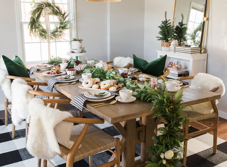 Tablescape Tuesday Holiday Home