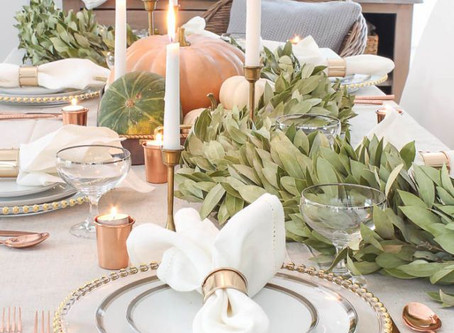 Top 5 Thanksgiving Tablescapes To Impress Your Guest
