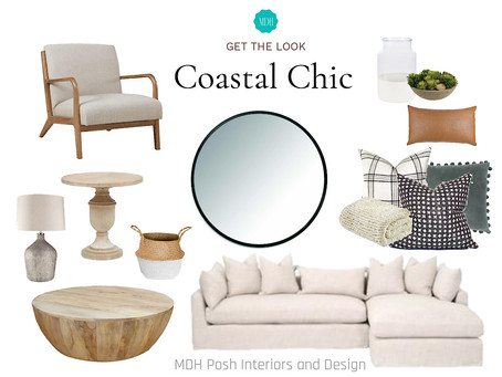 GET THE LOOK - COASTAL CHIC FAMILY ROOM