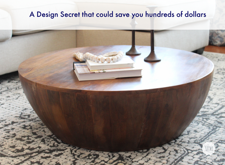 A DESIGN SECRET THAT COULD SAVE YOU HUNDREDS