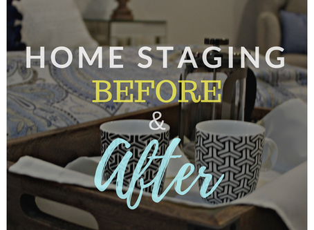 Transformation Tuesday: Home Staging Before and After