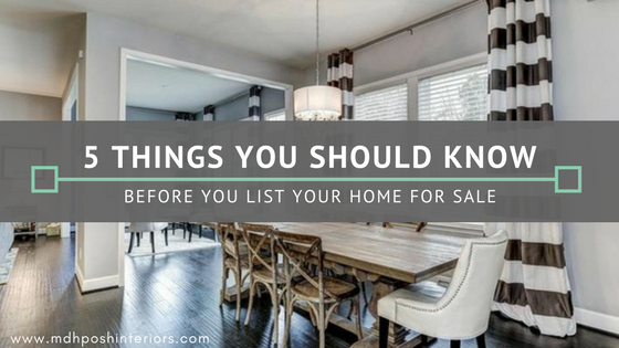 5 things you should know before you list your home for sale