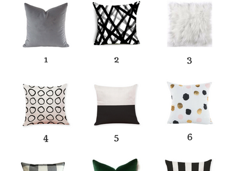 9 Affordable & Stylish Pillow Picks