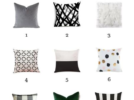 9 Affordable & Stylish Pillow Picks