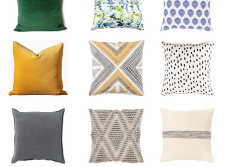 5 EASY STEPS TO MIX & MATCH PILLOWS LIKE A DESIGNER