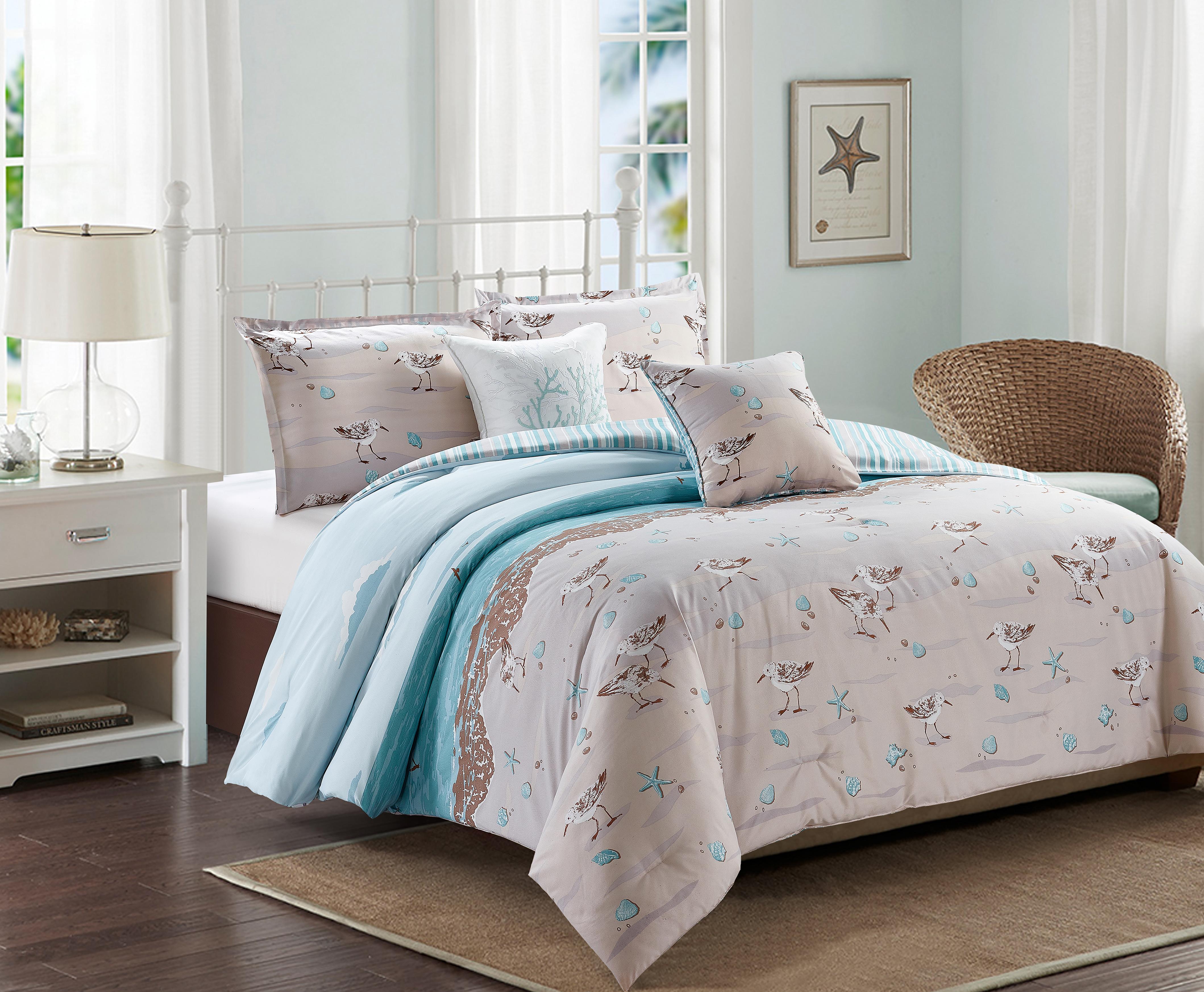 Sandpiper comforter set