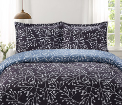 Duvet Branches Gray/Blue