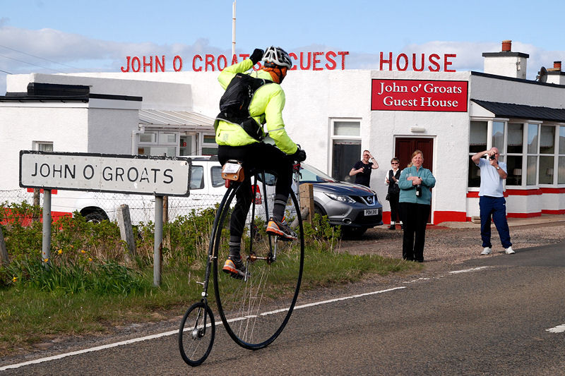 Dave Preece arrives at the Guest House
