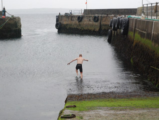 Making a Splash in John o' Groats!