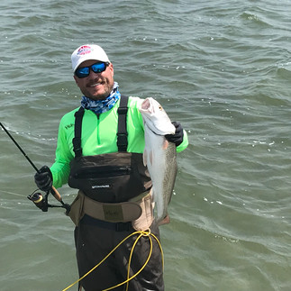 Wade Fishing with Rooster Charters