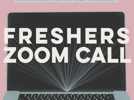 Freshers Zoom Call