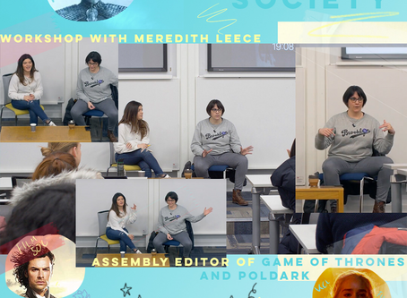 Workshop with Meredith Leece - Assembly Editor of Game of Thrones and Poldark