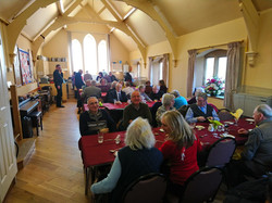 Lent Lunch in Hall
