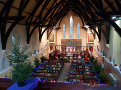 xmas tree festival at Christ Church