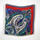 Thumbnail: Paisley Silk Scarf in Red & Blue