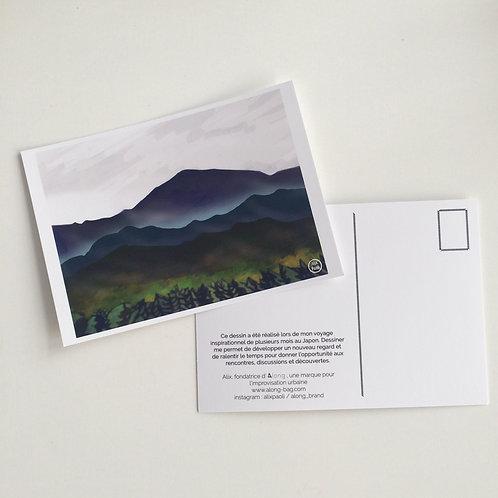 Carte Postale Japon - Montagne