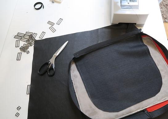 Along, sac à dos urbain professionnel voyage sport test maquette design