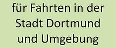 Fahrten in der Stadt Dortmund und Umgebu