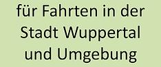 Fahrten in der Stadt Wuppertal und Umgeb