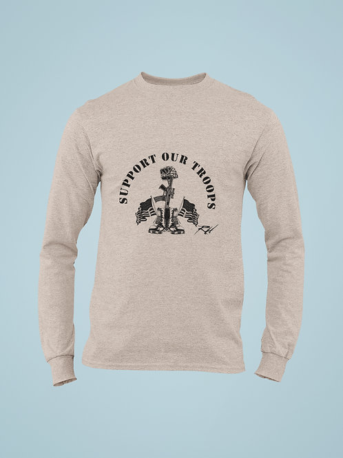 Support Our Troops Long SLeeve