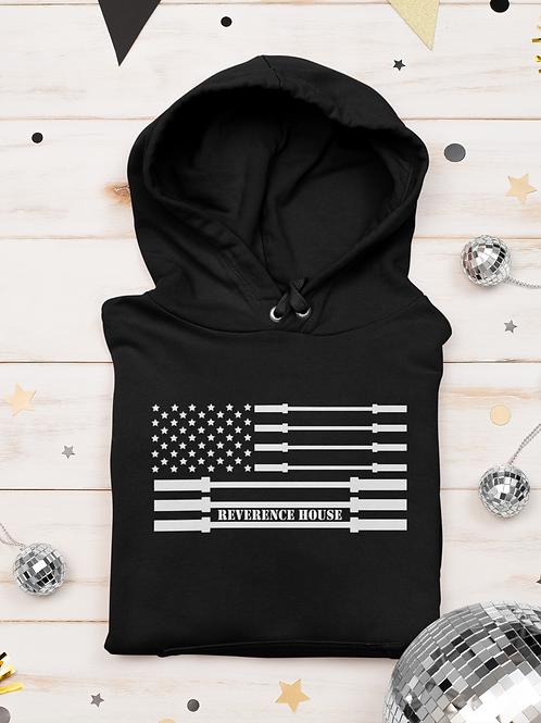 Barbell Flag Hoodie