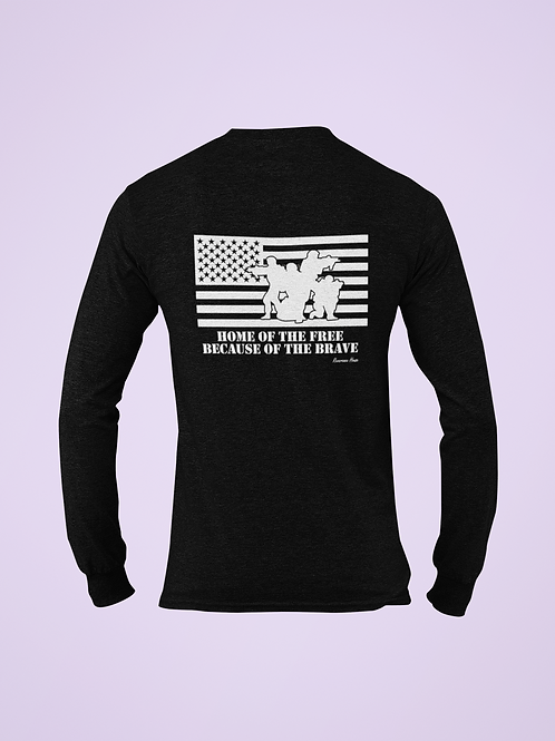 Military Support Long Sleeve