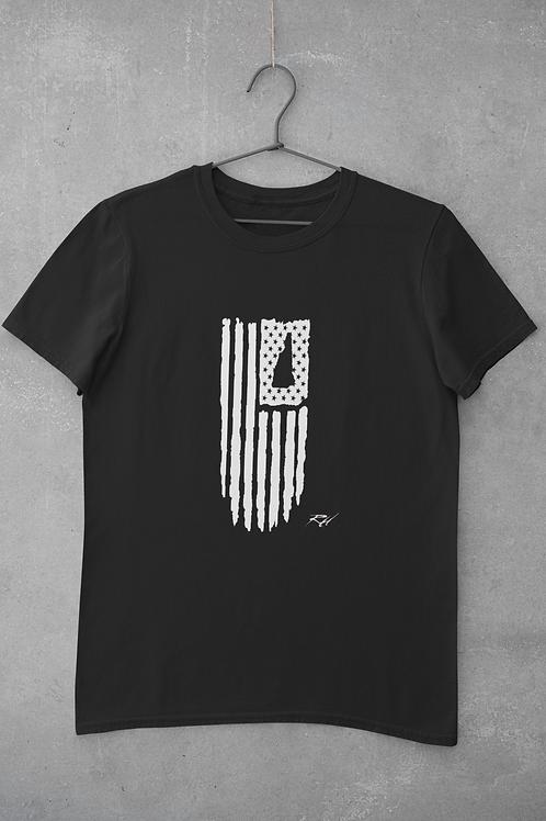 New Hampshire Flag T Shirt